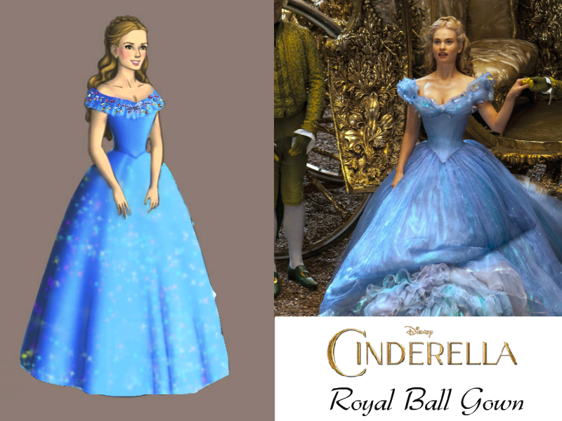 Disney\'s Cinderella-Royal Ball Gown by nickelbackloverxoxox on ...