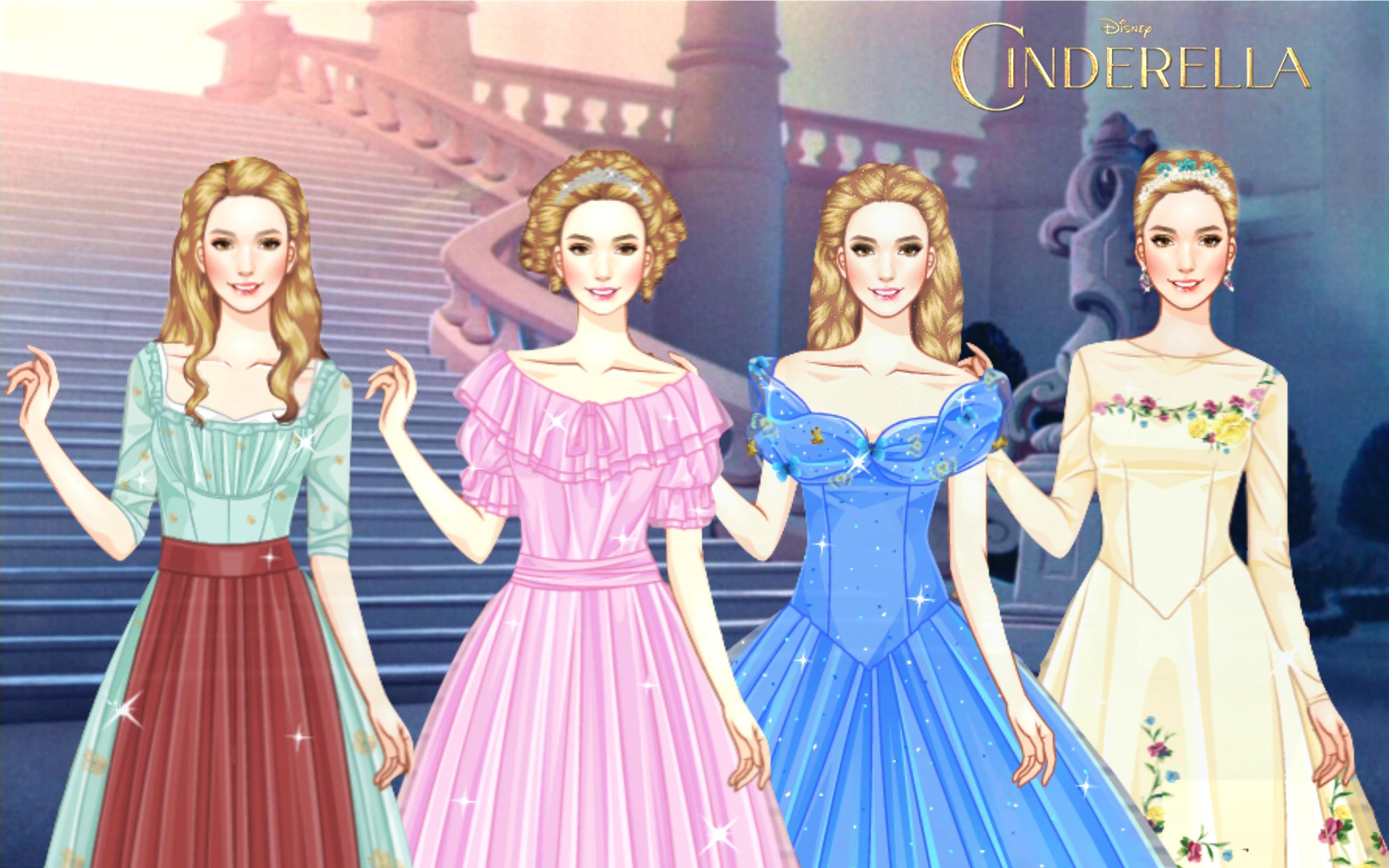 Costumes from Disney's Cinderella (2015) by ... Disney Princess 2017 Logo
