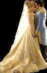 Ella and Kit Wedding-Cinderella 2015 PNG