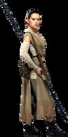 Star Wars VII-Rey PNG by nickelbackloverxoxox