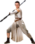 Star Wars VII-Rey PNG 3