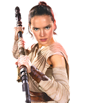 Star Wars VII-Rey PNG 4