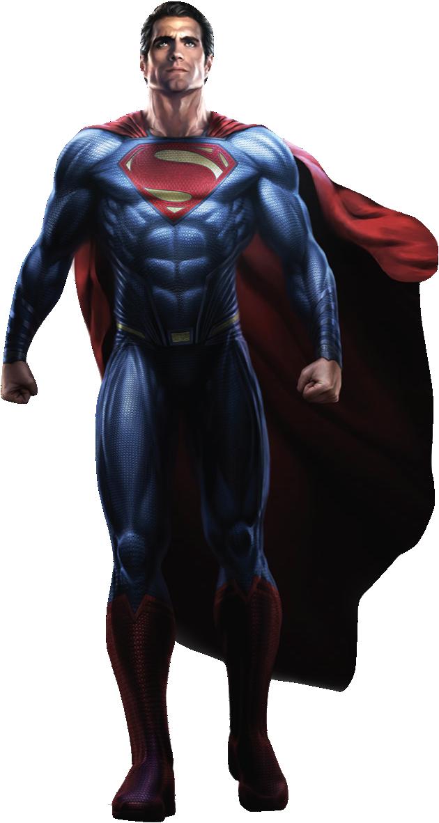 Superman-BvS (full body) PNG by nickelbackloverxoxox on ...