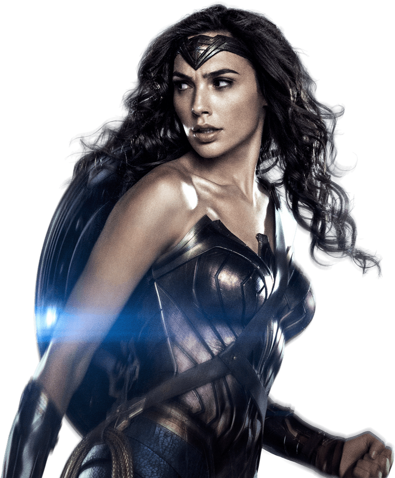 Gal Gadot as Wonder Woman with shield 3 PNG by ...
