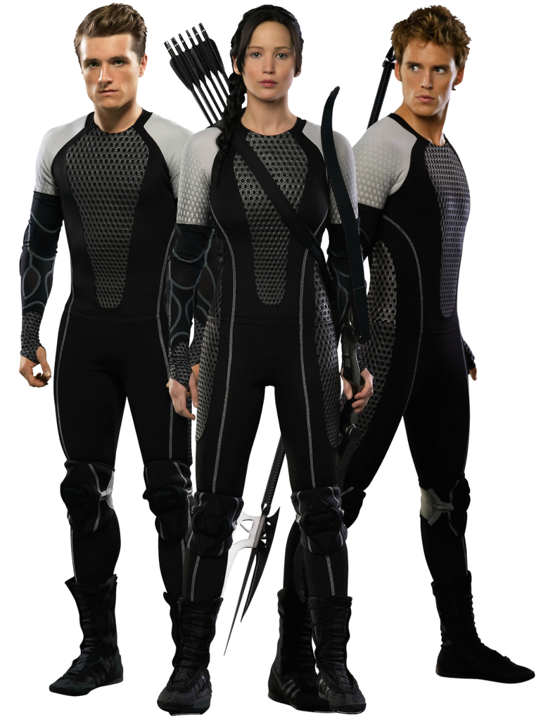 katniss peeta and finnickcatching fire png by