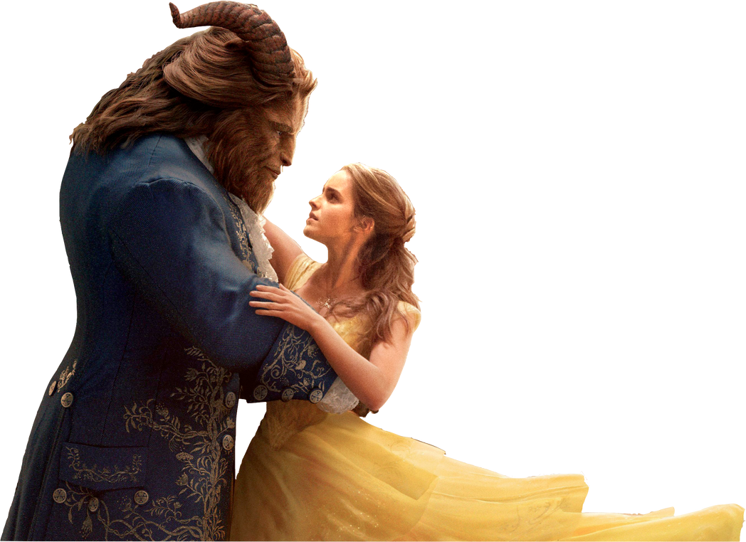 Belle And Beast Beauty And The Beast 2017 Png By