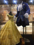 Better look at Belle and Beast's BATB costumes