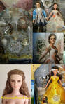 First look at dolls of Emma Watson as Belle