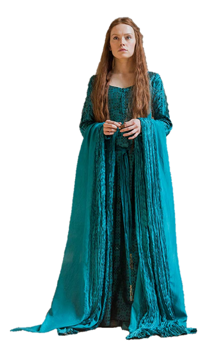Daisy Ridley as Ophelia (full body) PNG by nickelbackloverxoxox