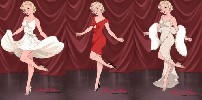 Pinup Princess Dollmaker-Marilyn Monroe