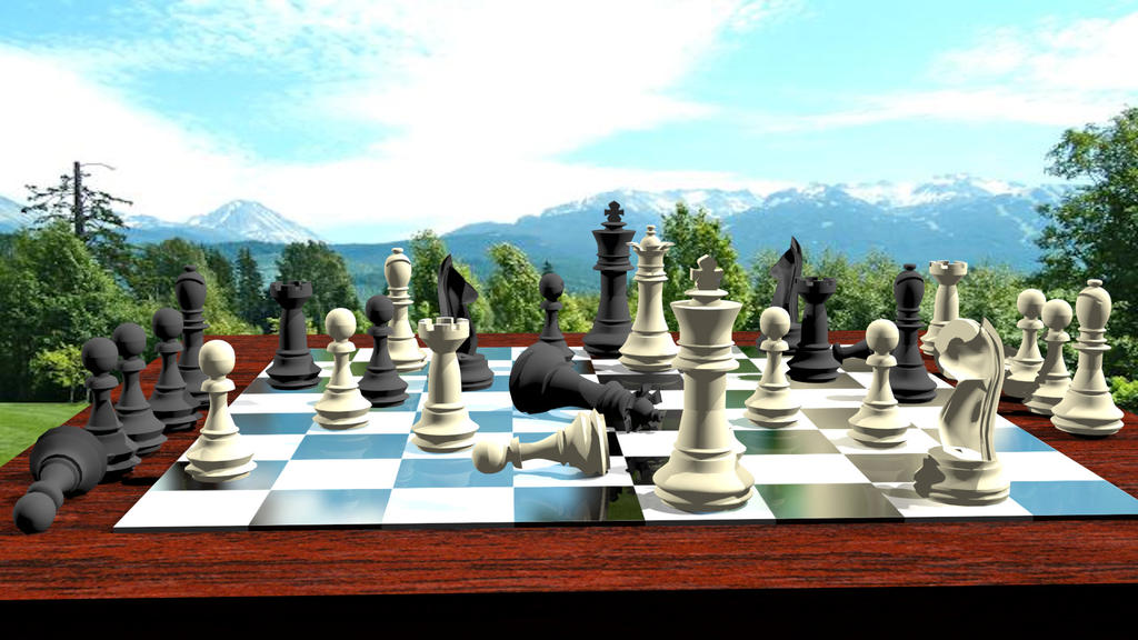 Chess Set by JeanSlayer