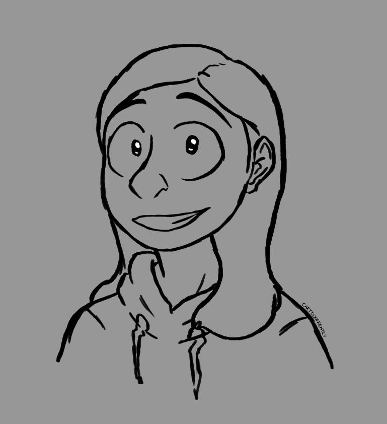 Self Portrait by CartoonFriendly