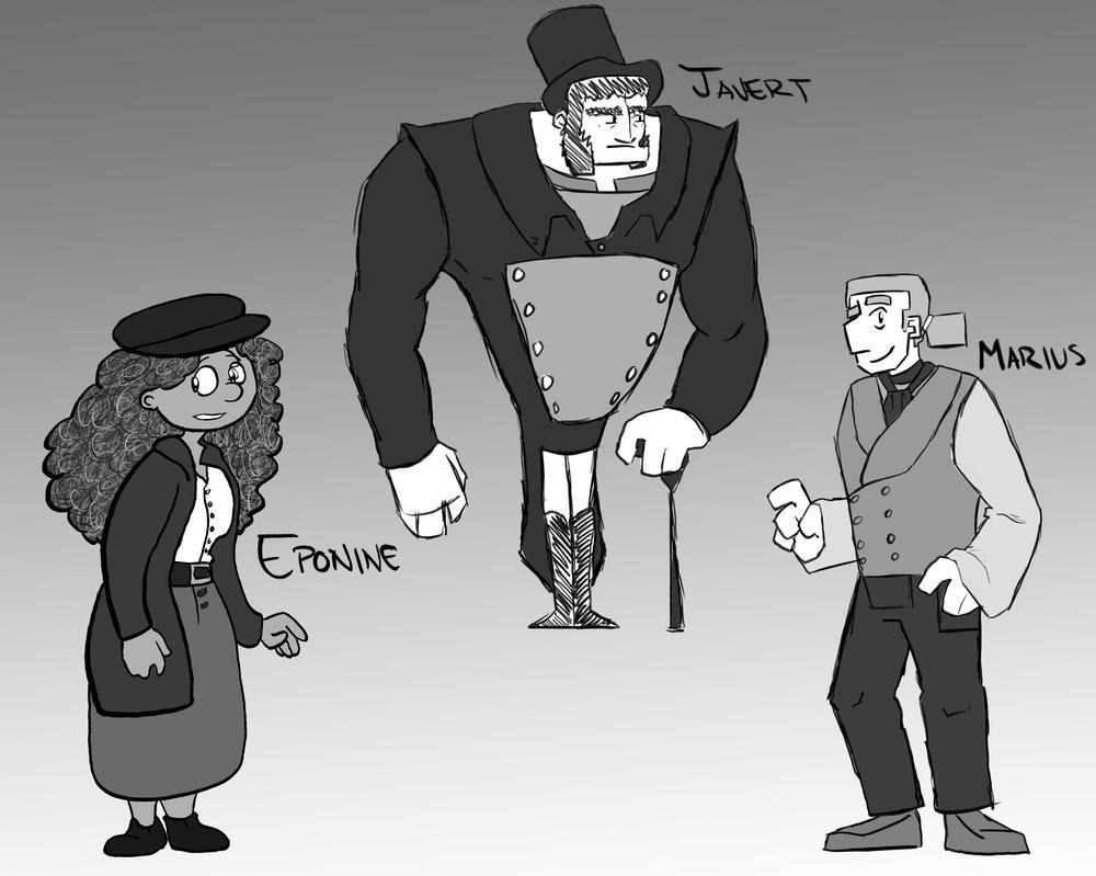 Les Miserables by CartoonFriendly