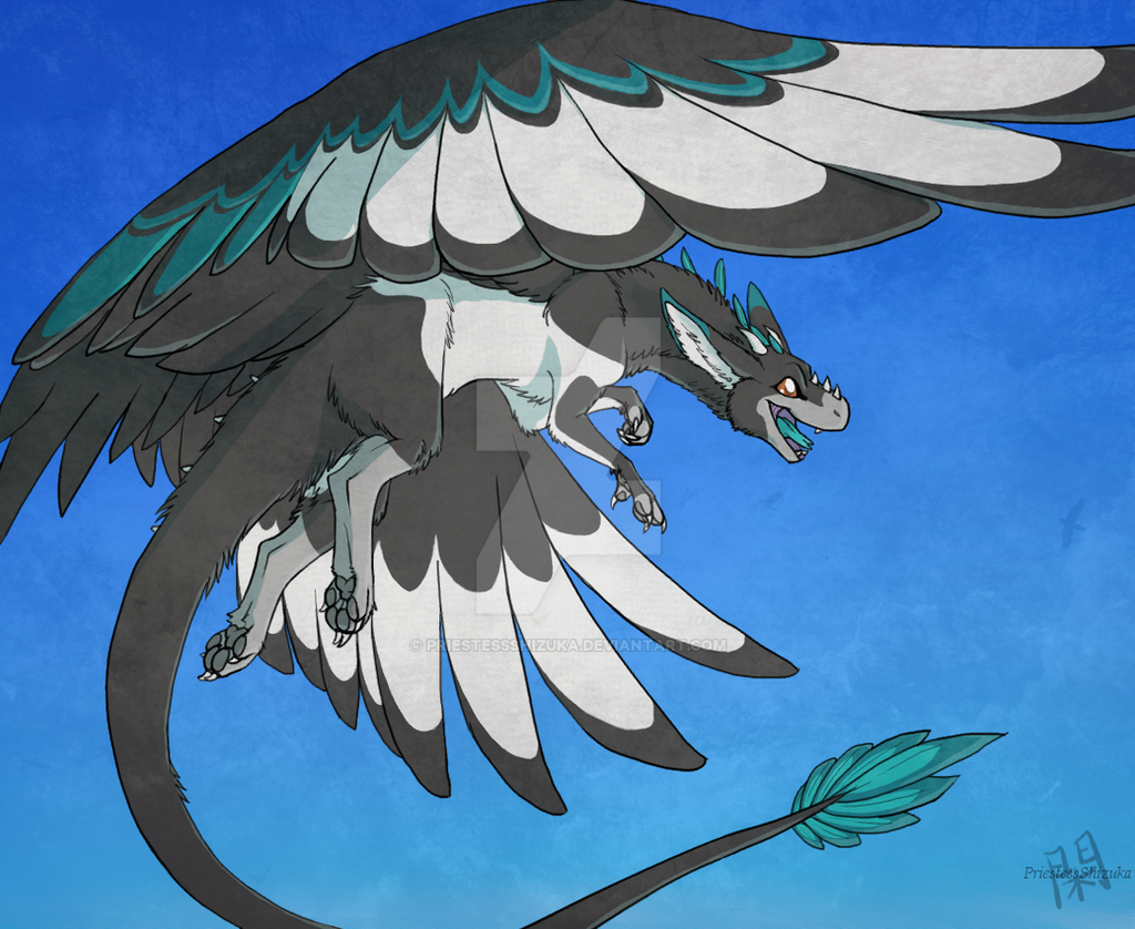 Angel Dragon: Sonar The Angel Dragon By PriestessShizuka On DeviantArt