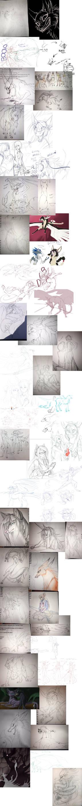Massive Sketch Dump 2016