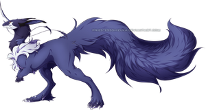 Majestic Blue Superfloof by PriestessShizuka