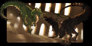 [Collab] Versus! by PriestessShizuka