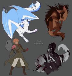Sketch commissions Batch 4
