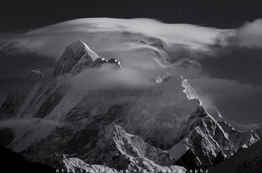 Mount Haramosh 7409m..