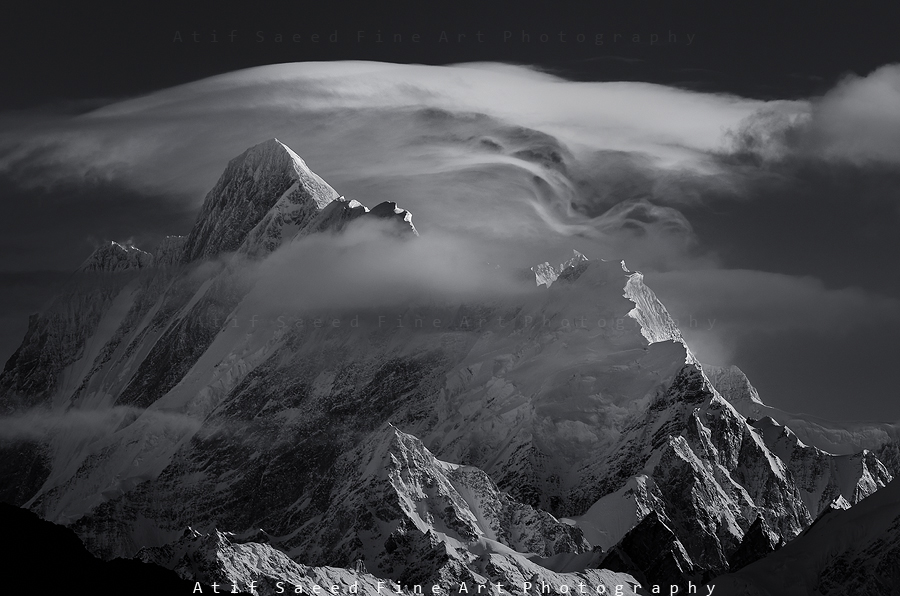Mount Haramosh 7409m.. by M-Atif-Saeed