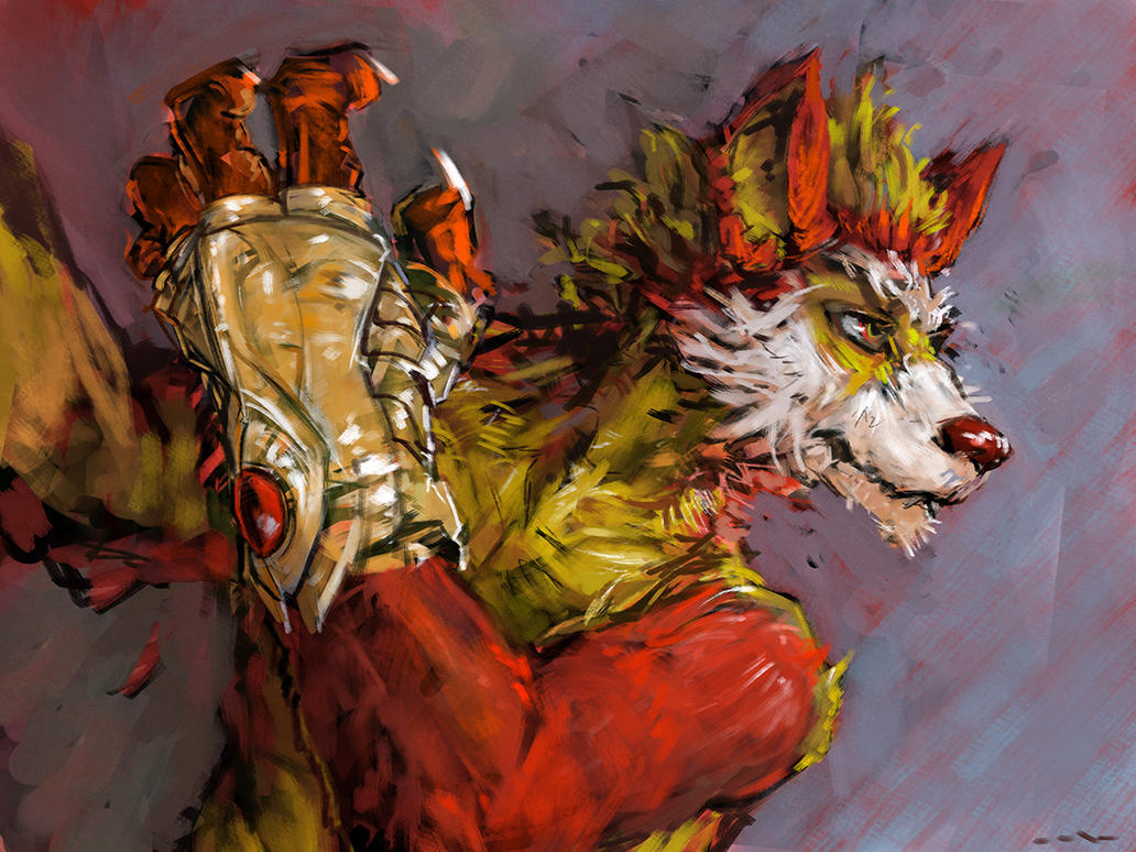 Snarfwolf by wahay