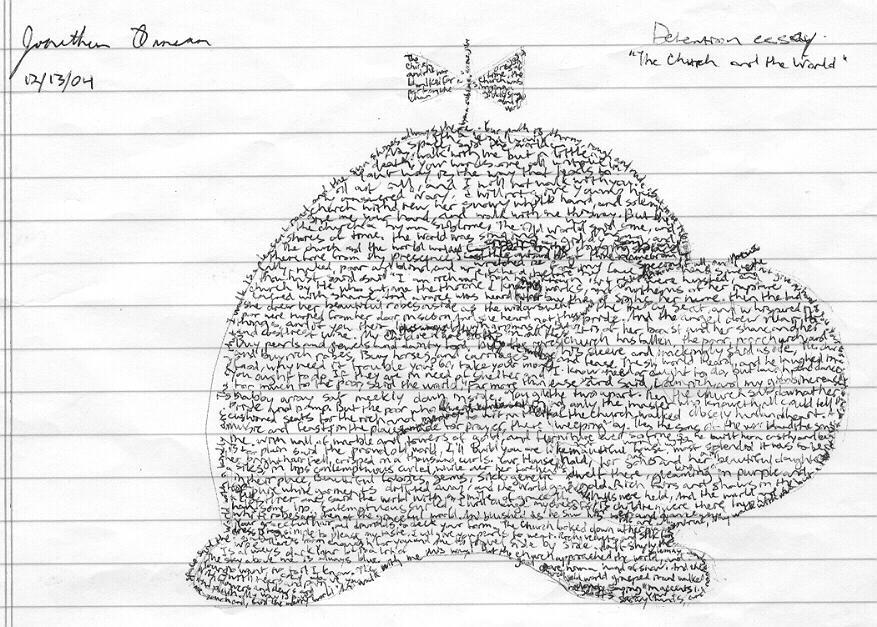 writing a discipline detention essay