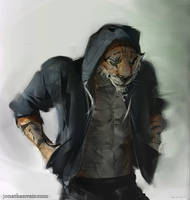 Tiger Boyfriend by jonathanvair