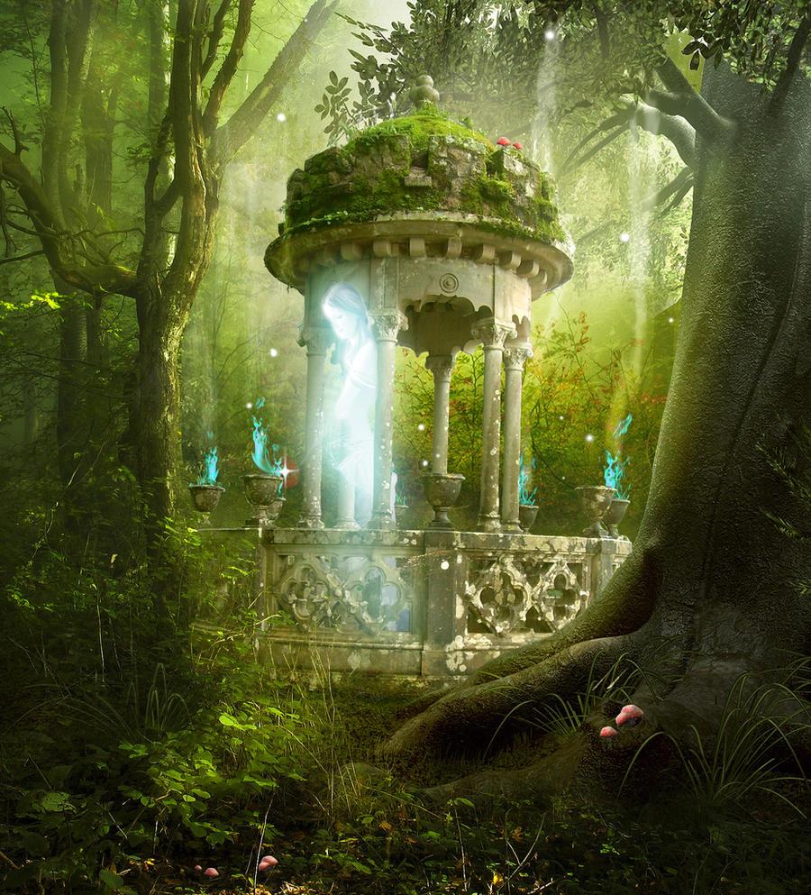 Chronik: Diana Cadarn Forest_spirit_by_smilingnoface