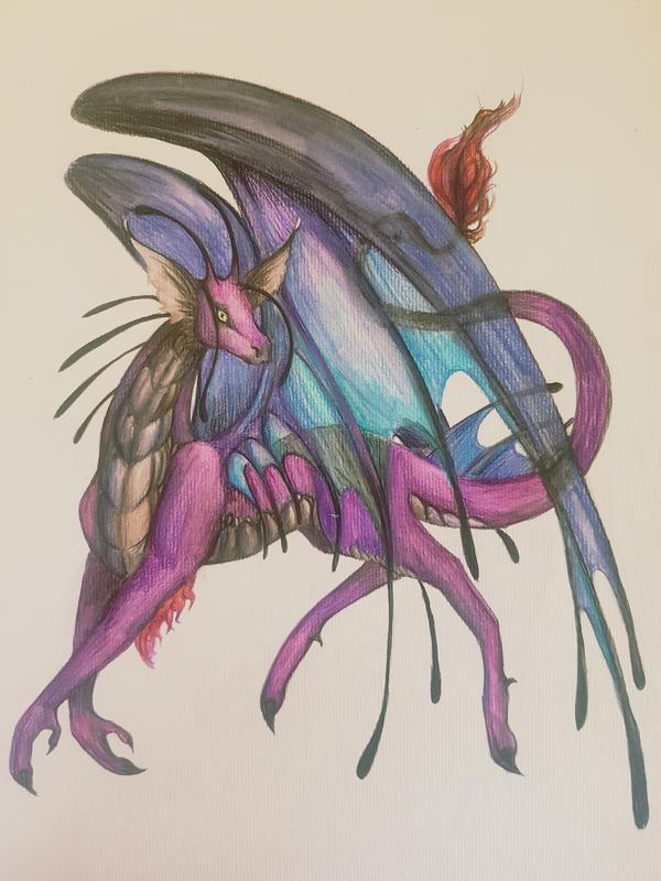 Sky dragon by Polkadotdiva
