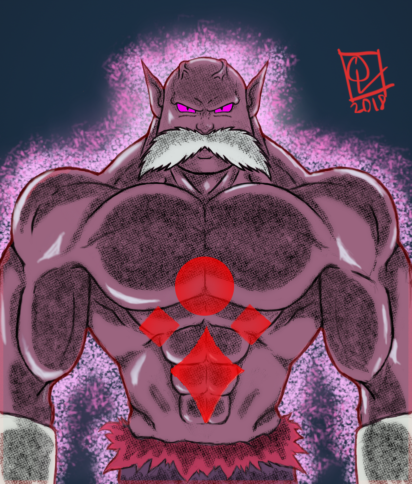 Toppo God of Destruction by vhicsyago