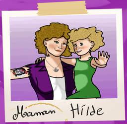 Maman et Hilde by SomeoneStoleMyPanda
