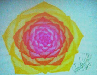 Lotus flower by AnnyQuillin