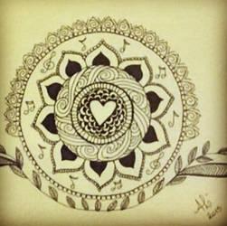 Mandala Zen by AnnyQuillin