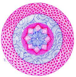 Mandala by AnnyQuillin
