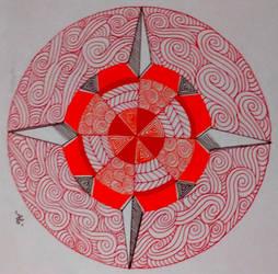 Mandala - ethnic by AnnyQuillin