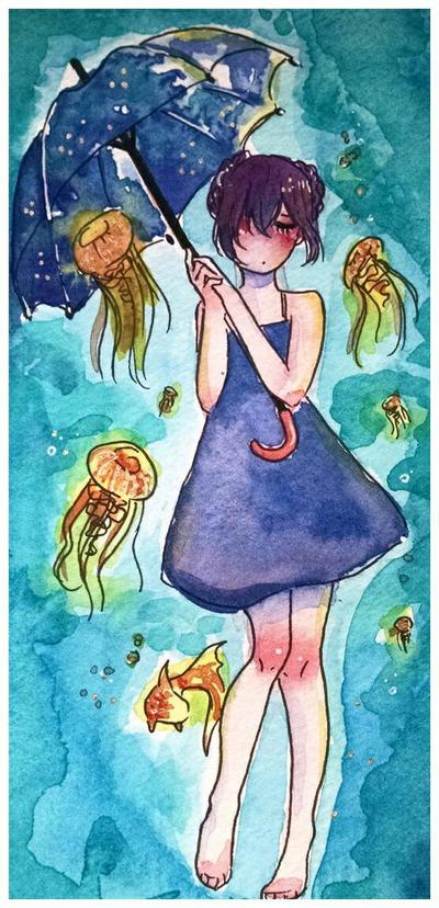 Jellyfish by KatyaHam