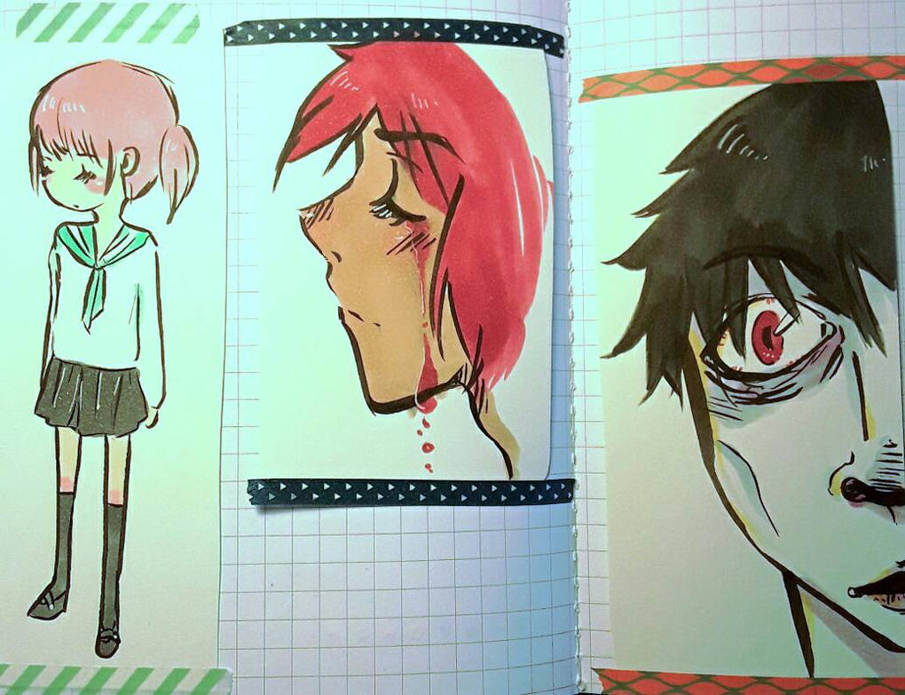 Doodles 5/15 by KatyaHam