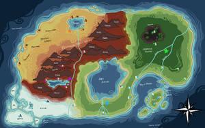 Dreamscape Map by KatyaHam