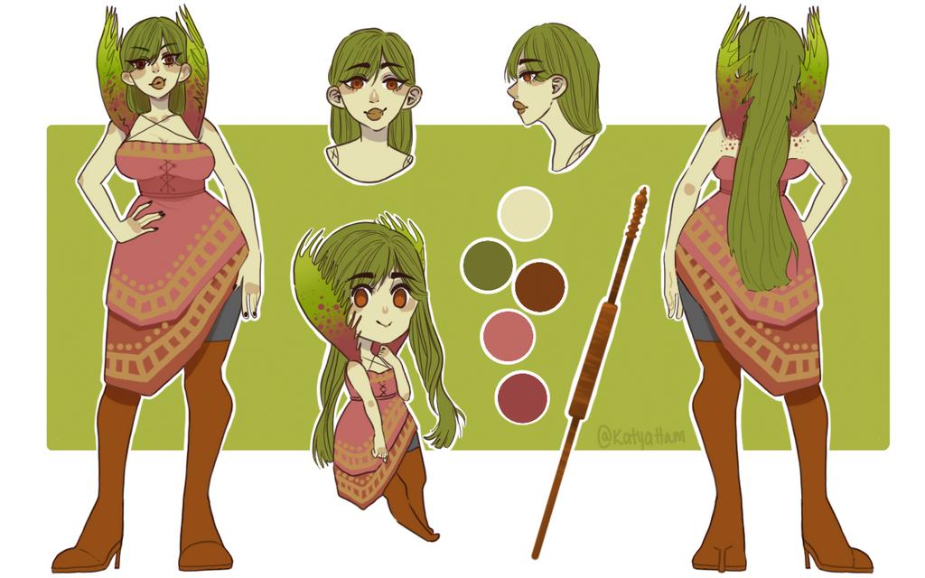 [C] Venus Flytrap  by KatyaHam