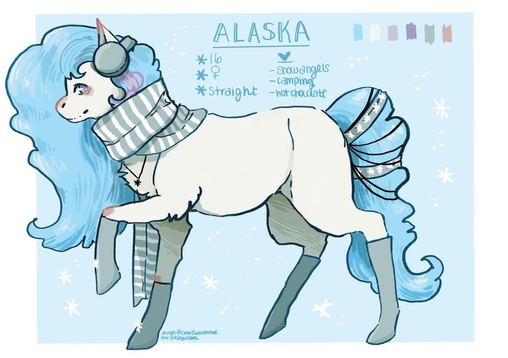 Alaska Ref by KatyaHam