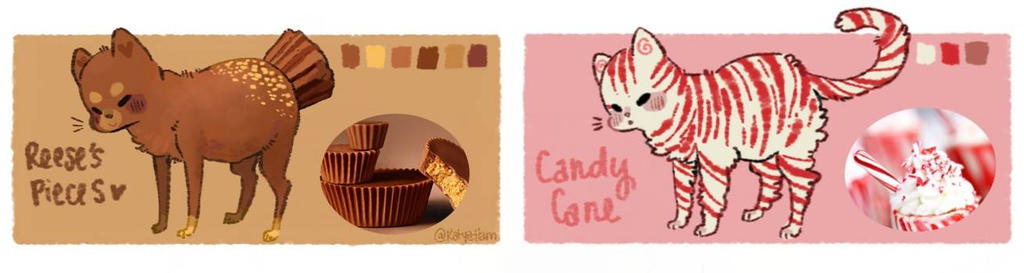 [CTC] Reeses and Canes~~ [CLOSED!!] by KatyaHam