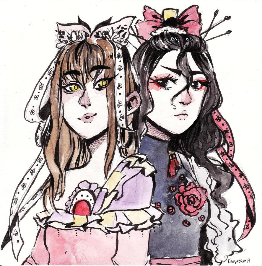 [C] Sisters~  by KatyaHam