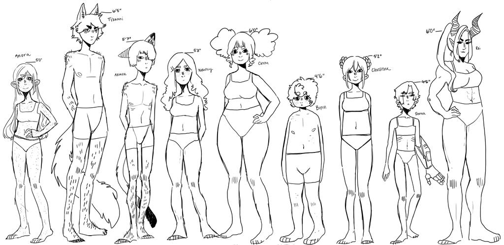 [DS] Body types by KatyaHam