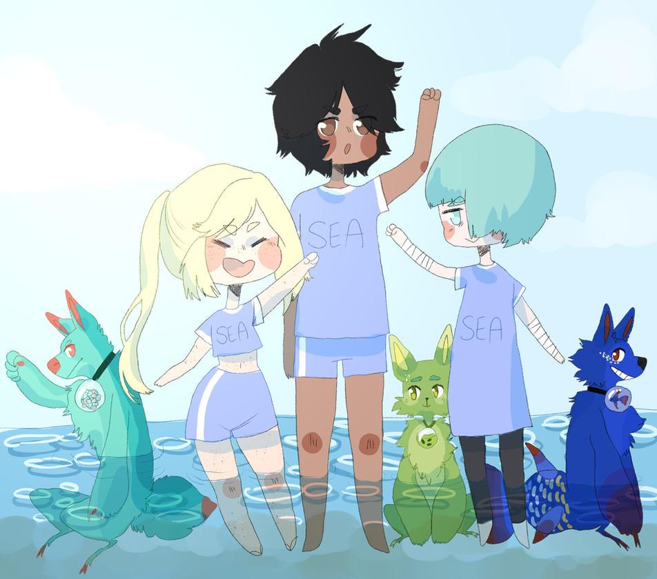 [DS] GO SEA TEAM!! by KatyaHam