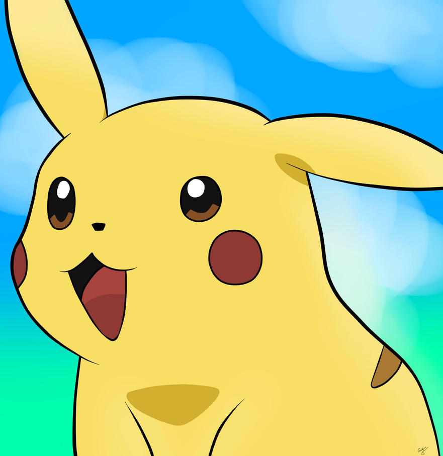 Pikachu - #025 by PrincessPyrefly