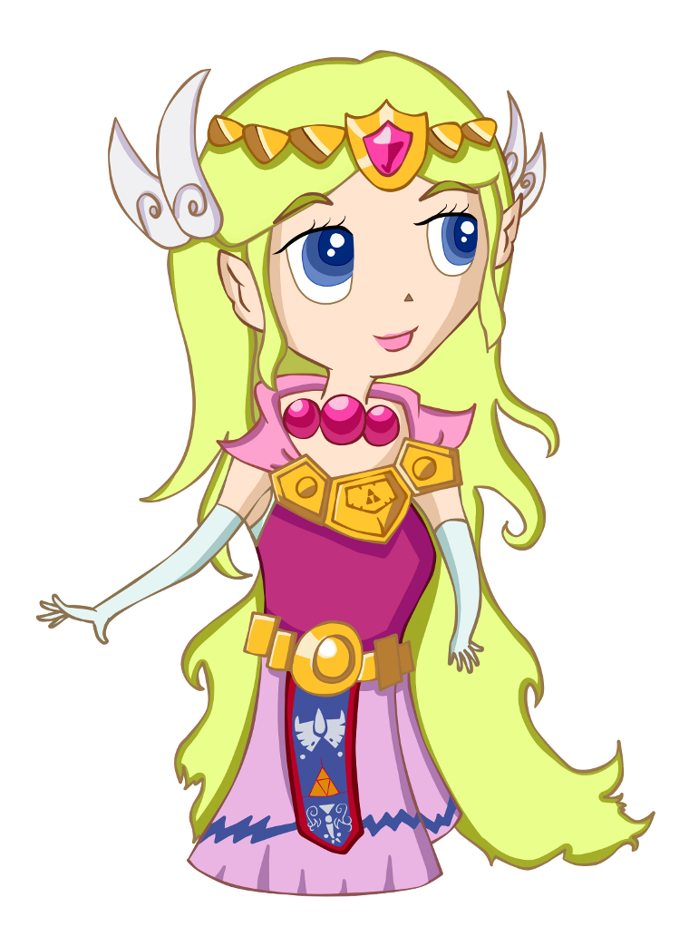 Princess Zelda - Spirit Tracks by PrincessPyrefly
