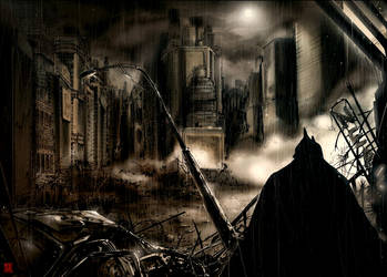 Batman by MelikeAcar