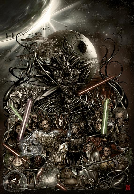 Darth Vader by MelikeAcar