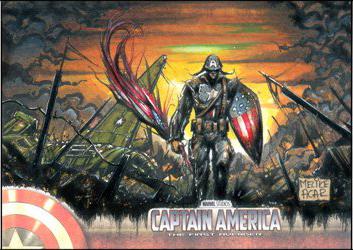 Captain America by MelikeAcar