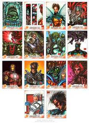 Kree Skrull War set1 by MelikeAcar